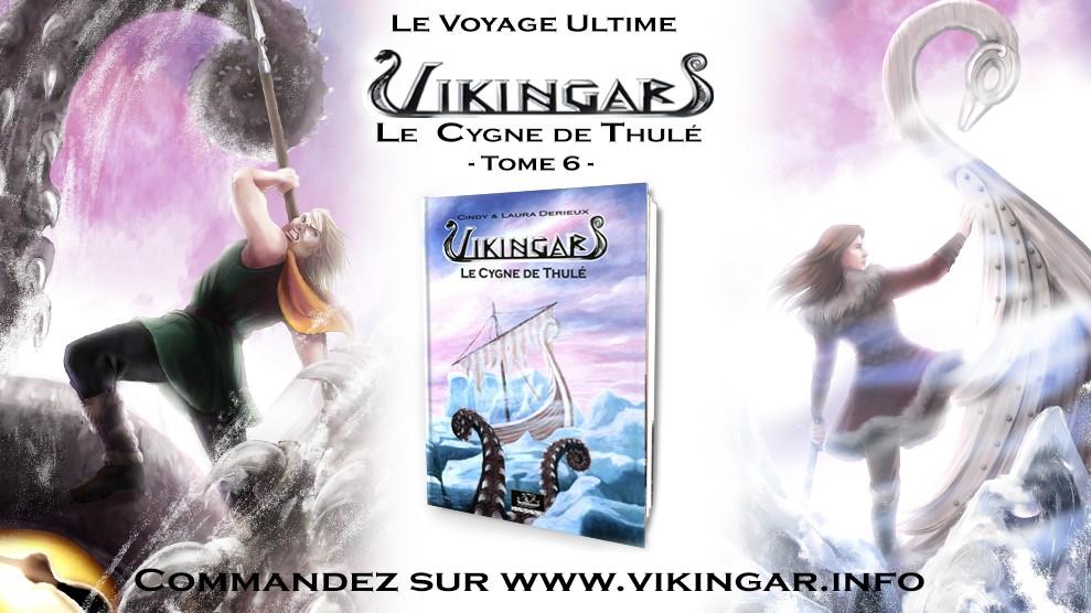suivez les aventures des heros de vikingar.